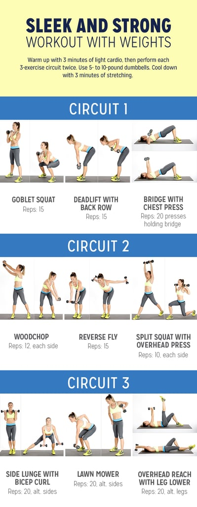 workout plan with weights for women
