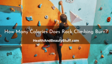 How Many Calories Does Rock Climbing Burn