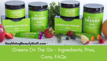 It works Greens On The Go benefits