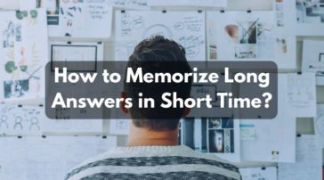 How to Memorize Long Answers in Short Time