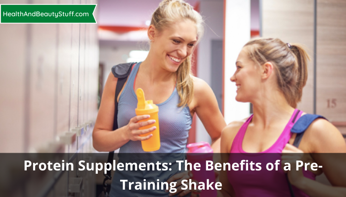 The Benefits of a Pre-Training Shake