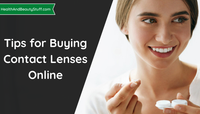 Tips for Buying Contact Lenses Online