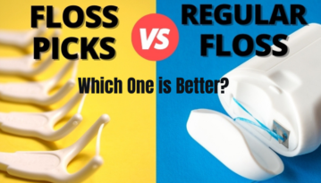 floss picks vs regular floss