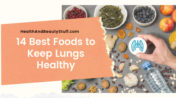 foods that are best for lungs