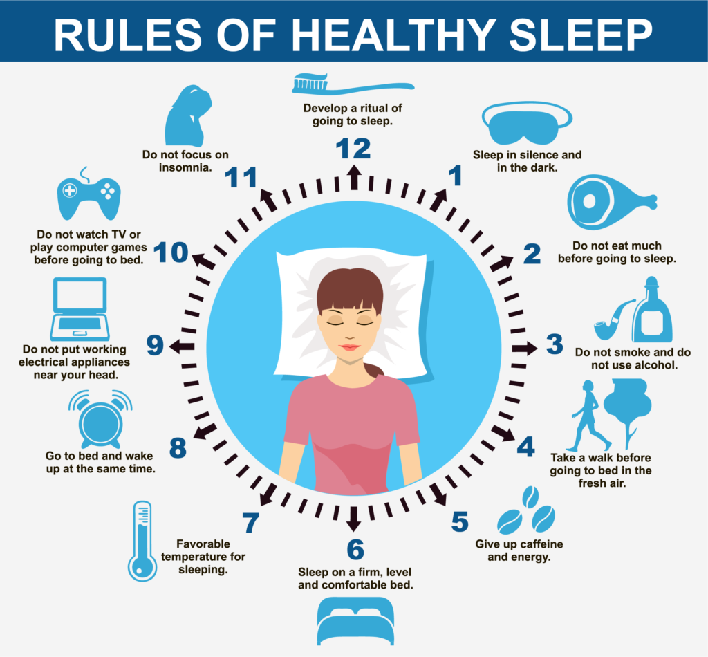 healthy sleep rules