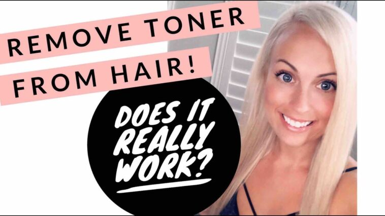 remove toner from hair