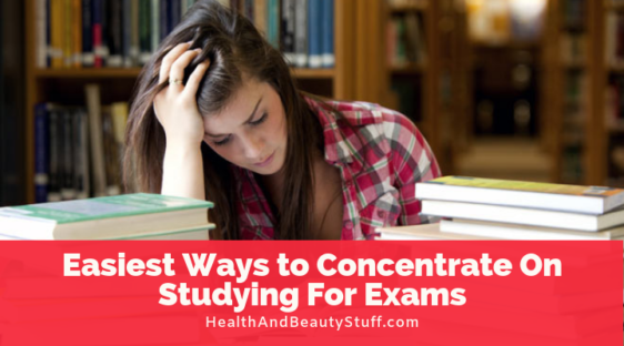 how to concentrate on study